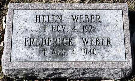 WEBER, HELEN - Richland County, Ohio | HELEN WEBER - Ohio Gravestone Photos