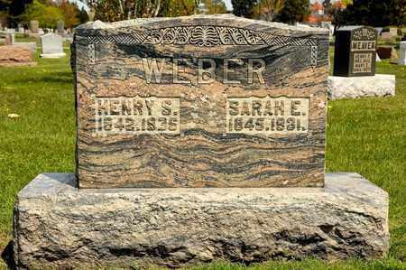 WEBER, SARAH E - Richland County, Ohio | SARAH E WEBER - Ohio Gravestone Photos