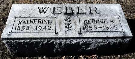 WEBER, GEORGE W - Richland County, Ohio | GEORGE W WEBER - Ohio Gravestone Photos