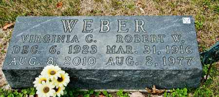 WEBER, ROBERT W - Richland County, Ohio | ROBERT W WEBER - Ohio Gravestone Photos