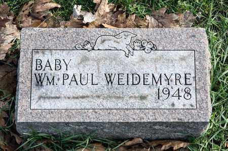 WEIDEMYRE, WILLIAM PAUL - Richland County, Ohio | WILLIAM PAUL WEIDEMYRE - Ohio Gravestone Photos