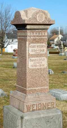 EPLEY WEIDNER, SARAH J - Richland County, Ohio | SARAH J EPLEY WEIDNER - Ohio Gravestone Photos