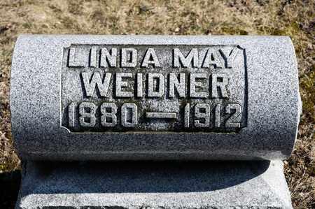 WEIDNER, LINDA MAY - Richland County, Ohio | LINDA MAY WEIDNER - Ohio Gravestone Photos