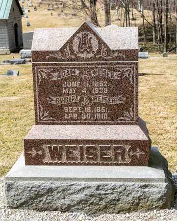 WEISER, CURTIS - Richland County, Ohio | CURTIS WEISER - Ohio Gravestone Photos