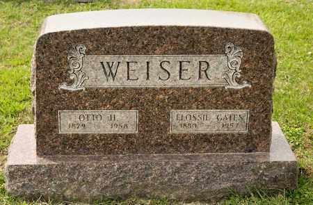 WEISER, ELOSSIE - Richland County, Ohio | ELOSSIE WEISER - Ohio Gravestone Photos