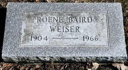 WEISER, ROENE - Richland County, Ohio   ROENE WEISER - Ohio Gravestone Photos