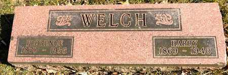 WELCH, FLORENCE - Richland County, Ohio | FLORENCE WELCH - Ohio Gravestone Photos