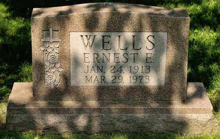 WELLS, ERNEST E - Richland County, Ohio | ERNEST E WELLS - Ohio Gravestone Photos