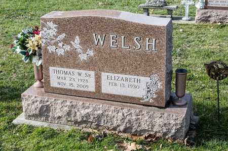 WELSH SR, THOMAS W - Richland County, Ohio | THOMAS W WELSH SR - Ohio Gravestone Photos