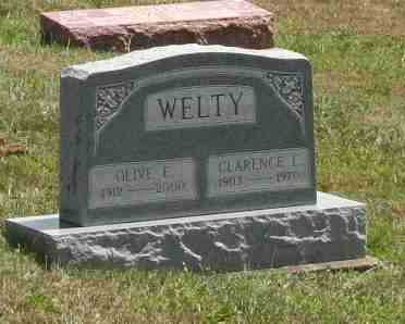 WELTY, CLARENCE - Richland County, Ohio | CLARENCE WELTY - Ohio Gravestone Photos