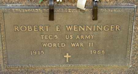 WENNINGER, ROBERT E - Richland County, Ohio   ROBERT E WENNINGER - Ohio Gravestone Photos