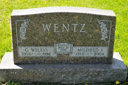 WENTZ, G WILLIS - Richland County, Ohio | G WILLIS WENTZ - Ohio Gravestone Photos