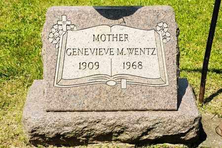 WENTZ, GENEVIEVE M - Richland County, Ohio   GENEVIEVE M WENTZ - Ohio Gravestone Photos