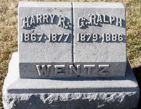 WENTZ, G RALPH - Richland County, Ohio | G RALPH WENTZ - Ohio Gravestone Photos
