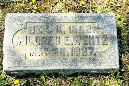 WENTZ, MILDRED E - Richland County, Ohio   MILDRED E WENTZ - Ohio Gravestone Photos