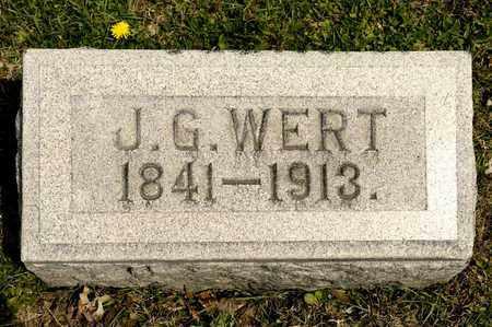WERT, J G - Richland County, Ohio | J G WERT - Ohio Gravestone Photos