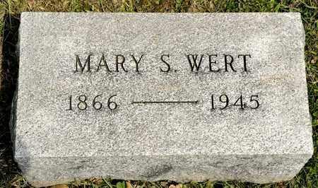 WERT, MARY S - Richland County, Ohio | MARY S WERT - Ohio Gravestone Photos
