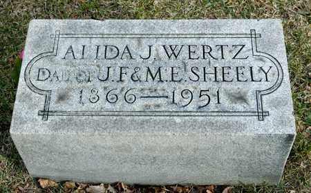 WERTZ, ALIDA - Richland County, Ohio   ALIDA WERTZ - Ohio Gravestone Photos