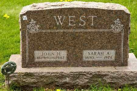 WEST, SARAH A - Richland County, Ohio | SARAH A WEST - Ohio Gravestone Photos