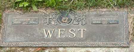 WEST, WILLIAM O - Richland County, Ohio | WILLIAM O WEST - Ohio Gravestone Photos