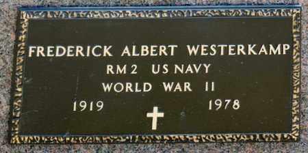 WESTERKAMP, FREDERICK ALBERT - Richland County, Ohio   FREDERICK ALBERT WESTERKAMP - Ohio Gravestone Photos