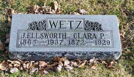 WETZ, J ELLSWORTH - Richland County, Ohio | J ELLSWORTH WETZ - Ohio Gravestone Photos