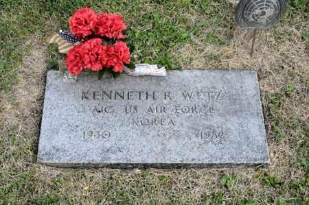 WETZ, KENNETH R - Richland County, Ohio | KENNETH R WETZ - Ohio Gravestone Photos