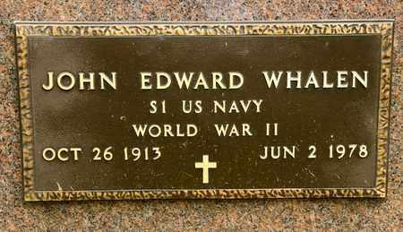 WHALEN, JOHN EDWARD - Richland County, Ohio   JOHN EDWARD WHALEN - Ohio Gravestone Photos