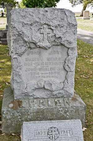 WHALON, MARY - Richland County, Ohio | MARY WHALON - Ohio Gravestone Photos