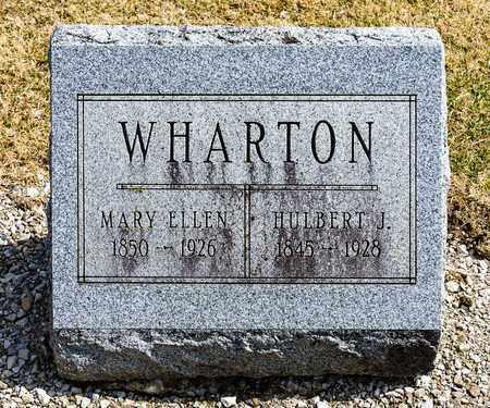 WHARTON, MARY ELLEN - Richland County, Ohio | MARY ELLEN WHARTON - Ohio Gravestone Photos