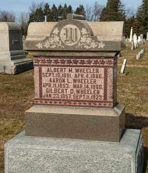 WHEELER, AARON L - Richland County, Ohio | AARON L WHEELER - Ohio Gravestone Photos