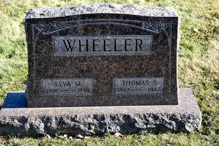 WHEELER, THOMAS S - Richland County, Ohio | THOMAS S WHEELER - Ohio Gravestone Photos