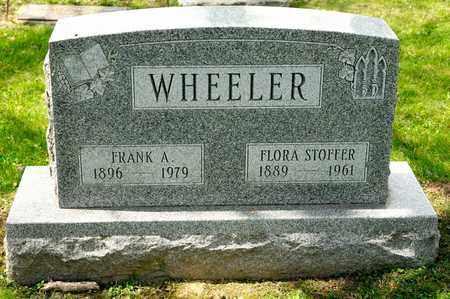 WHEELER, FRANK A - Richland County, Ohio   FRANK A WHEELER - Ohio Gravestone Photos