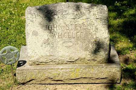 WHEELER, JOHN STEVEN - Richland County, Ohio | JOHN STEVEN WHEELER - Ohio Gravestone Photos