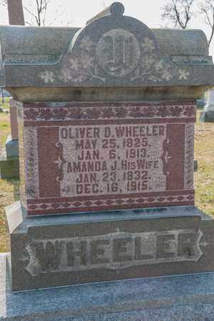 WHEELER, OLIVER D - Richland County, Ohio | OLIVER D WHEELER - Ohio Gravestone Photos