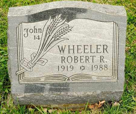 WHEELER, ROBERT R - Richland County, Ohio | ROBERT R WHEELER - Ohio Gravestone Photos