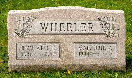 WHEELER, RICHARD D - Richland County, Ohio | RICHARD D WHEELER - Ohio Gravestone Photos