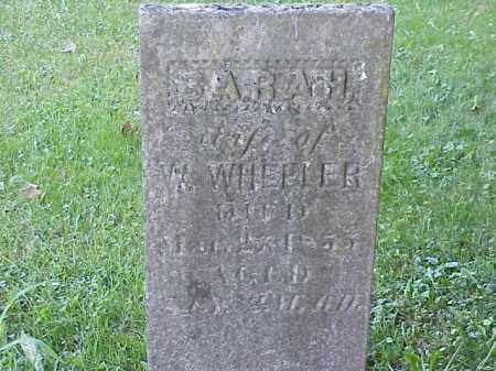 WHEELER, SARAH - Richland County, Ohio | SARAH WHEELER - Ohio Gravestone Photos