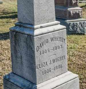 WHERRY, ELIZA J - Richland County, Ohio | ELIZA J WHERRY - Ohio Gravestone Photos