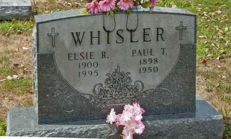 WHISLER, ELSIE R - Richland County, Ohio | ELSIE R WHISLER - Ohio Gravestone Photos