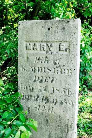 WHISLER, MARY E - Richland County, Ohio | MARY E WHISLER - Ohio Gravestone Photos