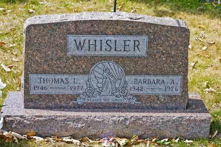 WHISLER, THOMAS L - Richland County, Ohio | THOMAS L WHISLER - Ohio Gravestone Photos