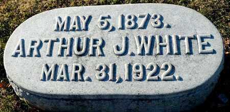 WHITE, ARTHUR J - Richland County, Ohio | ARTHUR J WHITE - Ohio Gravestone Photos