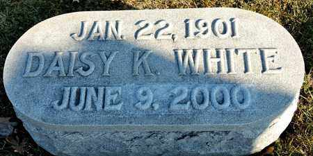 WHITE, DAISY K - Richland County, Ohio | DAISY K WHITE - Ohio Gravestone Photos