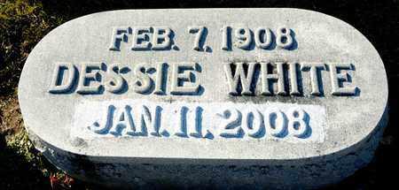 WHITE, DESSIE - Richland County, Ohio   DESSIE WHITE - Ohio Gravestone Photos