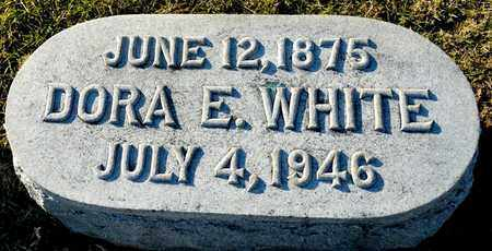 WHITE, DORA E - Richland County, Ohio   DORA E WHITE - Ohio Gravestone Photos