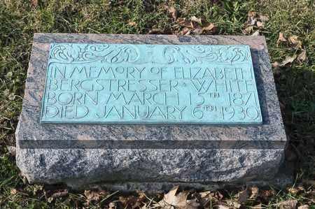 WHITE, ELIZABETH - Richland County, Ohio | ELIZABETH WHITE - Ohio Gravestone Photos