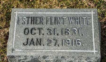 WHITE, ESTHER - Richland County, Ohio | ESTHER WHITE - Ohio Gravestone Photos