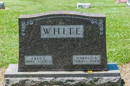 WHITE, FAYE E - Richland County, Ohio | FAYE E WHITE - Ohio Gravestone Photos