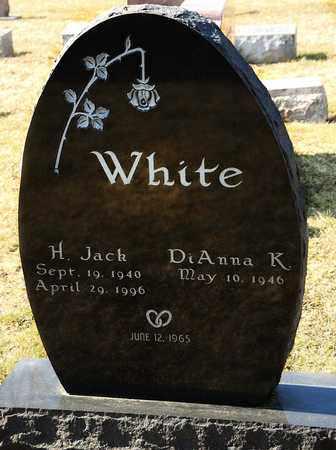 WHITE, H JACK - Richland County, Ohio   H JACK WHITE - Ohio Gravestone Photos